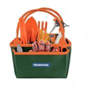 Kit para Jardinagem Tramontina com Bolsa de Lona 13 Peças