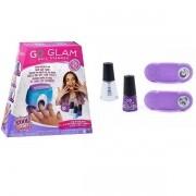 Kit para Pintura de UNHAS GO GLAM Nail Stamper + Daydream SUNNY