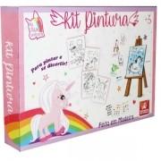 Kit Pintura Unicornio Brincadeira de Crianca 0985