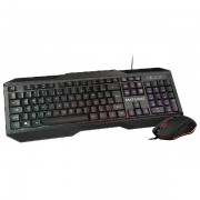 Kit Teclado e Mouse Gamer com LED Multilaser TC239