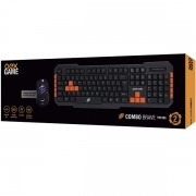 Kit Teclado e Mouse Gamer Brave OEX TM303