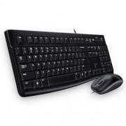 Kit Teclado e Mouse USB MK120 Preto Logitech - 920-004429