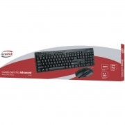 Kit Teclado e Mouse Wireless 1200DPI Newlink Advanced CK102