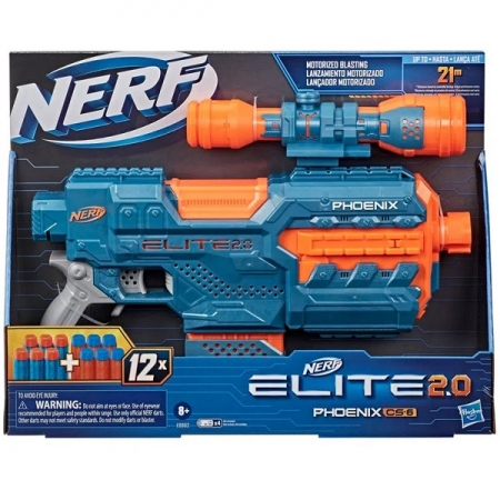 Lançador NERF Elite 2.0 Phoenix CS-6 Hasbro E9962 14958