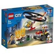 Lego CITY Combate AO Fogo com Helicoptero 60248