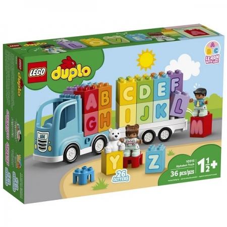 Lego Duplo Caminhao do Alfabeto 10915