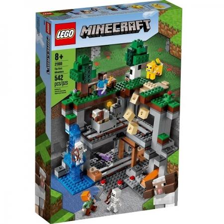 Lego Minecraft Primeira Aventura 21169