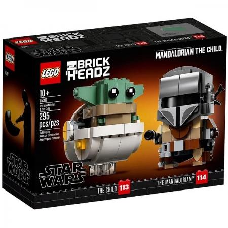 Lego STAR WARS o Mandaloriano e a Criança 75317