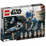 Lego STAR WARS Soldados Clone da 501ª. Legiao 75280