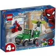 Lego Super Heroes o Assalto AO Caminhoneiro de Vulture 76147