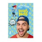 Livro Brincando com Luccas Neto Pixei