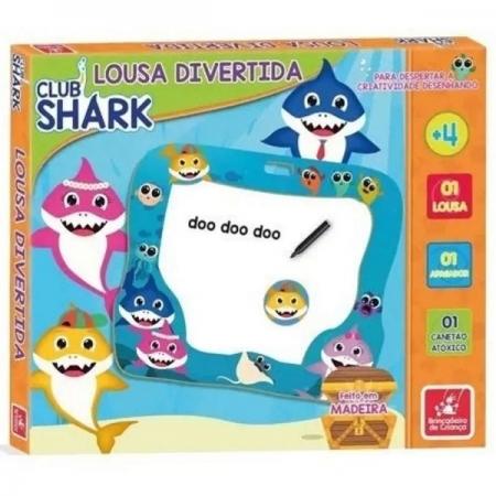 Lousa Branca CLUB SHARK Brincadeira de Criança 2338