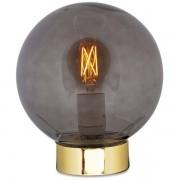 Luminaria de Mesa em Vidro e Metal MART 09711