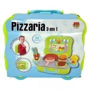 Maleta Pizzaria 3 em 1 DM TOYS DMT5585