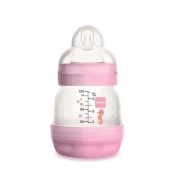 Mamadeira FIRST Bottle 0M+ GIRLS Rosa 160ML MAM 4662