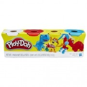 Massinha PLAY DOH 4 Potes Hasbro B5517 11626