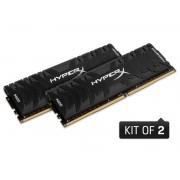 Memoria Desktop Gamer DDR4 HYPERX HX430C15PB3K2/8 Predator 8GB KIT(2X4GB) 3000MHZ CL15 DIMM XMP