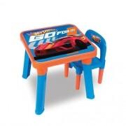 Mesa e Cadeira HOT Wheels Carro Vermelho FUN 6020 6927-0