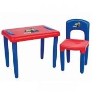 Mesa MAX com Cadeira AZUL e Vermelho Magic TOYS 3021