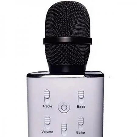 Microfone Bluetooth para Karaoke OEX MK100 Preto