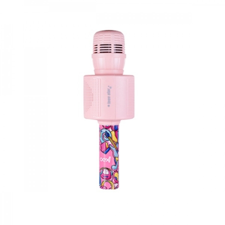 Microfone Bluetooth Teen STAR OEX MK301 Rosa