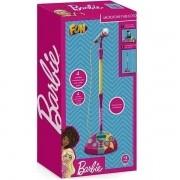 Microfone Fabuloso Barbie com Funcao MP3 Player FUN F0004-4