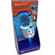 Microfone Infantil Karaoke SHOW com Bluetooth AZUL TOYNG 36739