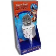 Microfone Infantil Karaoke SHOW com Bluetooth Prata TOYNG 36739