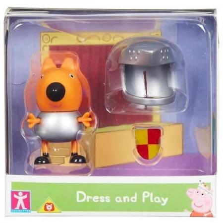 Mini Figura com Roupinha Peppa PIG - DENNY SUNNY 2319