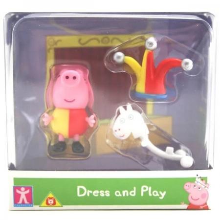 Mini Figura com Roupinha Peppa PIG - George SUNNY 2319