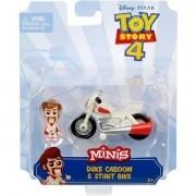 Mini Figura e Veiculo TOY STORY 4 Duke Caboom e Veiculo Mattel GCY49