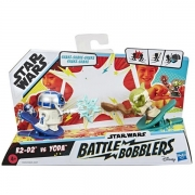 Mini Figuras STAR WARS Battle Bobblers R2D2 VS Yoda Hasbro E8026 14863