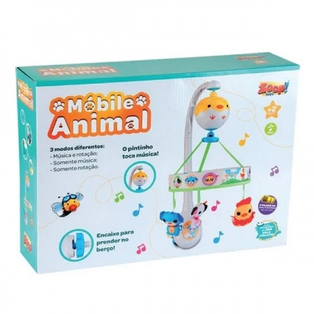 Mobile Animal Zoop TOYS ZP00668
