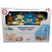 Mobile Musical Ursinho Pelucia Masculino Pais e Filhos 0982