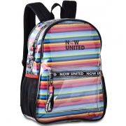 Mochila Transparente NOW United Clio STYLE NU3255