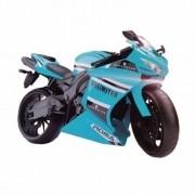 Moto Racing Motorcycle 34,5CM AZUL Claro Roma 0905