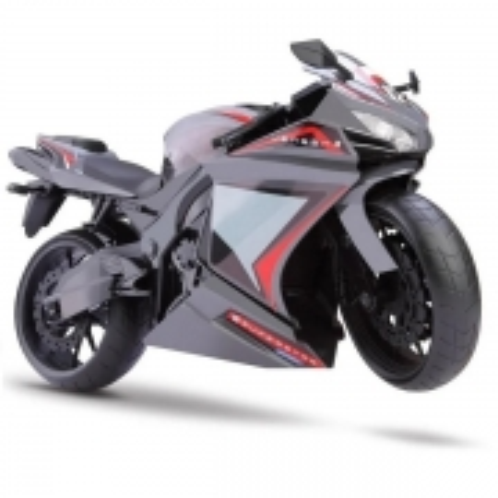 Moto Racing Motorcycle 34,5CM Cinza Roma 0905