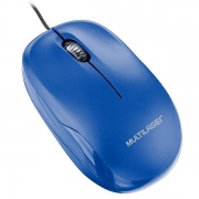 Mouse BOX Optico AZUL USB Multilaser MO293
