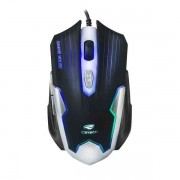 Mouse Gamer Optico C3 TECH MG-11 BSI Preto e Prata