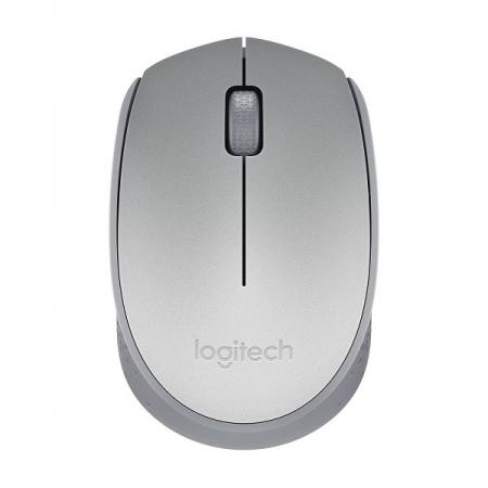 Mouse Optico sem Fio M170 Prata Logitech 910-005334