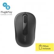 Mouse sem Fio 2.4 GHZ M10 Preto RA007 Rapoo