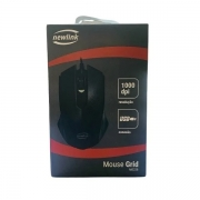 Mouse USB 1000 DPI Newlink GRID MO228