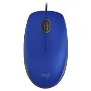 Mouse USB M110 Silent AZUL Logitech 1000DPI