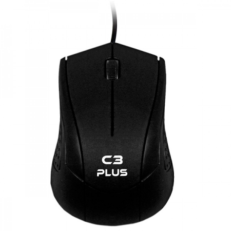 Mouse USB MS-27BK Preto C3PLUS C3 TECH