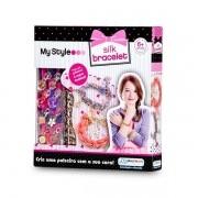 MY STYLE SILK Bracelete Pulseiras de Seda Multikids BR099