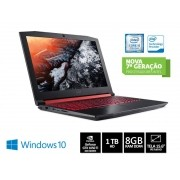 Notebook INTEL com Teclado Numerico ACER NHQ33AL001 AN515-51-50U2 Core I5 7300HQ 8GB 1TB WIN10 15.6FHD