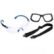 Kit Oculos de Segurança Transparente 3M Solus 1000