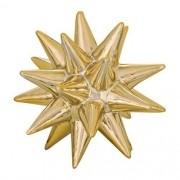 Ouriço Decorativo em Ceramica Dourado Pequeno MART 08719
