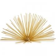 Ouriço Decorativo em Metal Dourado MART 13358