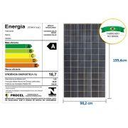 Painel Solar Canadian Centrium ENERGY CS6U-320P 72 Celulas Poli Nacional 6 Polegadas 320W